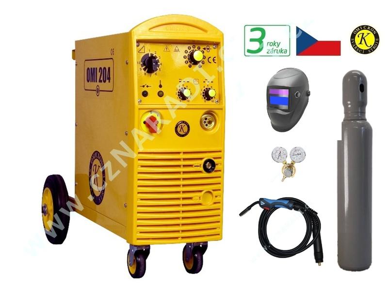 OMI 204 + hořák + red. ventil + kukla + lahev