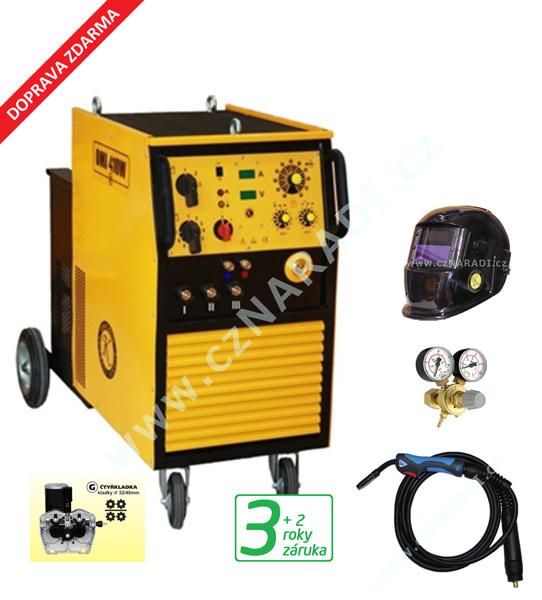 OMI 410W 4-kladka + hořák + red. ventil + kukla, záruka 3 roky