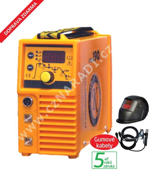 GAMA 190L + kabely + kukla, záruka 3 roky