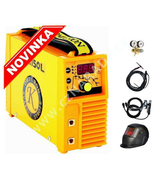 GAMA 150L + kabely + kukla + TIG hořák + ventil