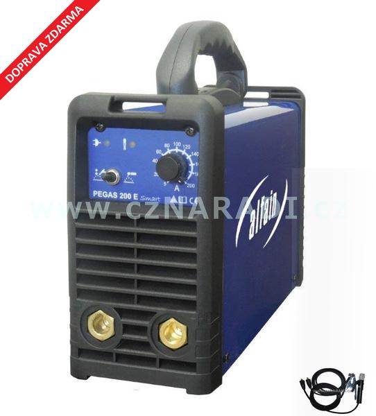 PEGAS 200 E Smart + kabely, 3 roky záruka - svářecí invertor Alfain