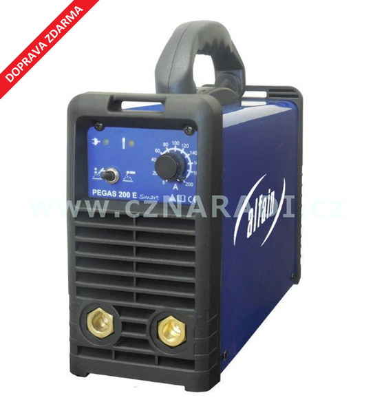 PEGAS 200 E Smart, 3 roky záruka - svářecí invertor Alfain