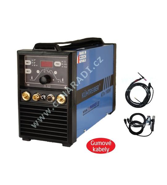 KITin 1500HF + kabely + kukla + TIG hořák + ventil + dárek