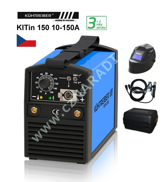 KITin 150 + kabely + elektrody, záruka až 5 roků