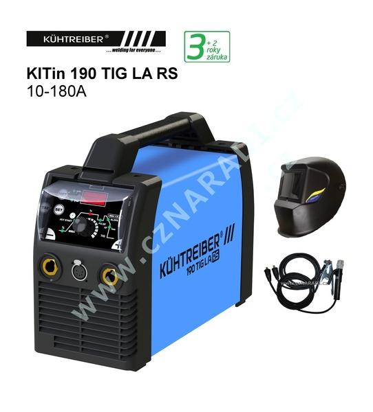 KITin 170 TIG LA + značková kukla + dárek