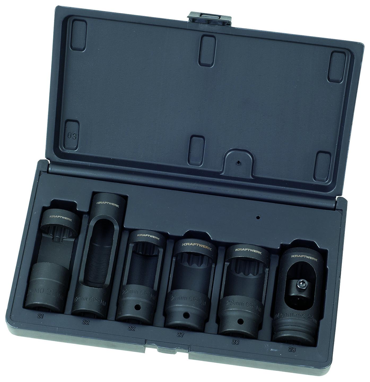 Souprava nástavců na vstřiky 21-28mm 6ks