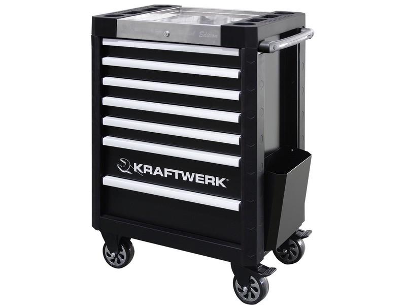 Dílenský vozík 7 zásuvek KRAFTWERK TRIO