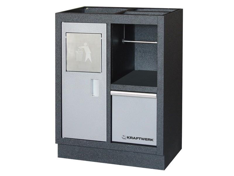 MOBILIO - spodní skříňka s odpadkovým košem 680x458x910mm