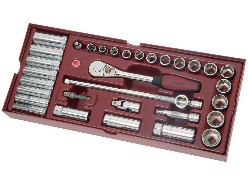 Gola 3/8' s příslušenstvím 33ks | Kraftwerk PROMO COMPLETO