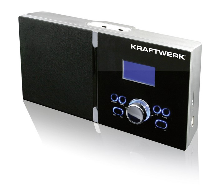 KRAFTWERK internetové rádio USB multifunkční
