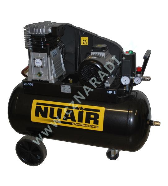 Pístový olejový kompresor 100L, B3800B/100 CT3