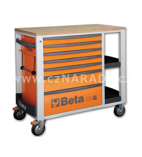 Dílenský vozík 7 zásuvek, C24SL Beta