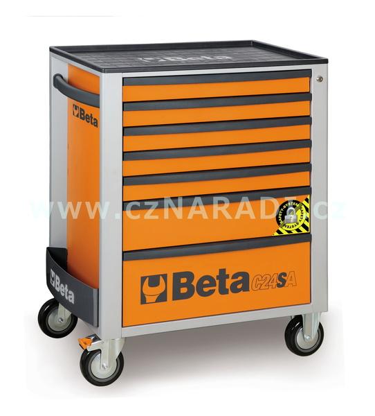 Dílenský vozík 7 zásuvek, C24SA/7 Beta