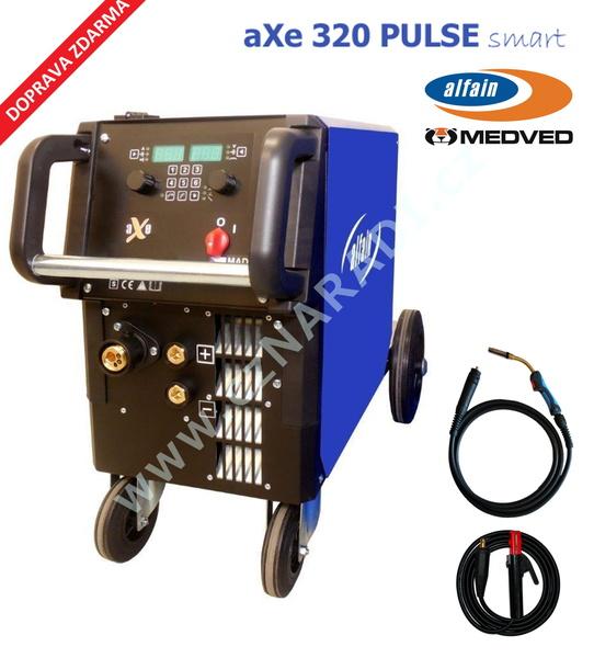 aXe 320 PULSE SMART GAS + hořák