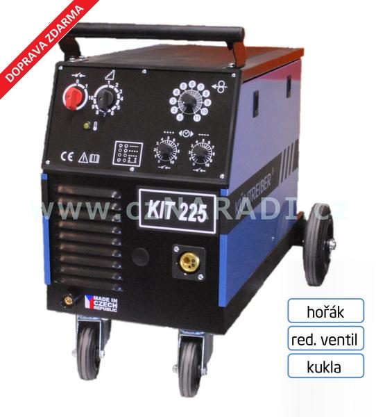 KIT 225 Standart 4-kladka + hořák + red. ventil + kukla