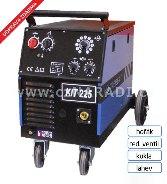 KIT 225 Standart 4-kladka + hořák + red. ventil + kukla + lahev