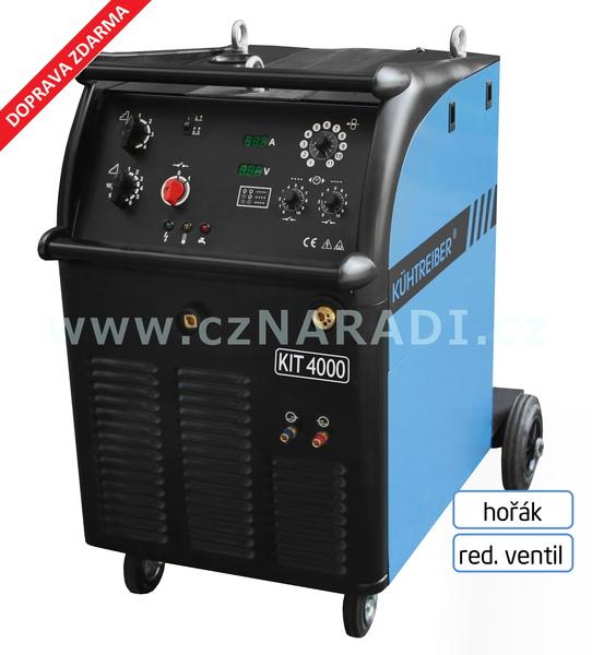 KIT 4000 W Standart 4-kladka + hořák Binzel + red. ventil