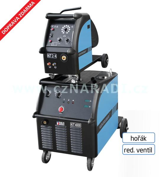 KIT 4000 WS Standart 4-kl + podavač + propoj + hořák + red. ventil