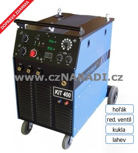 KIT 400W Standart 4-kladka + hořák + red. ventil + kukla + lahev