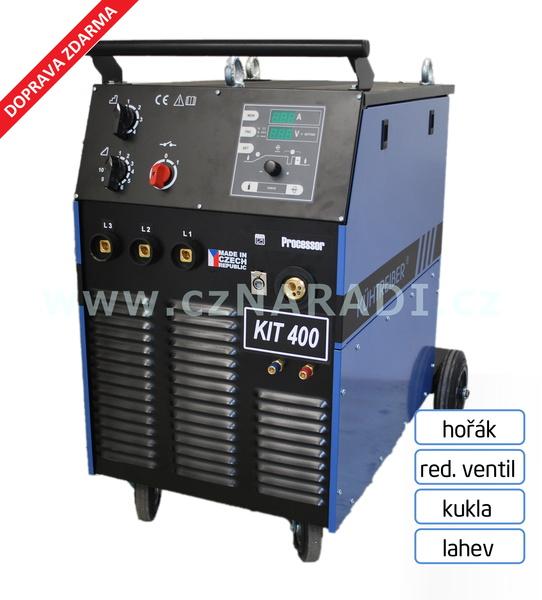 KIT 400W Processor 4-kladka + hořák + red. ventil + kukla + lahev