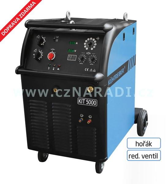 KIT 5000 W Standart 4-kladka + hořák + red. ventil