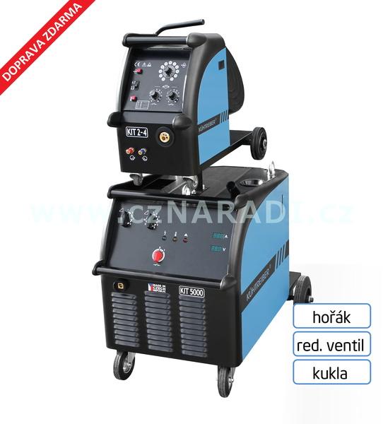 KIT 5000 WS Standart 4-kl + podavač + propoj + hořák + red. ventil + kukla
