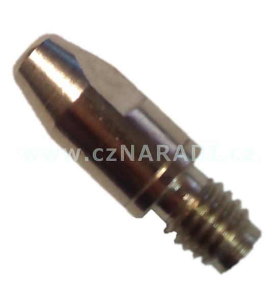 Průvlak M8x10x30x1,4mm CuCrZr poniklovaný