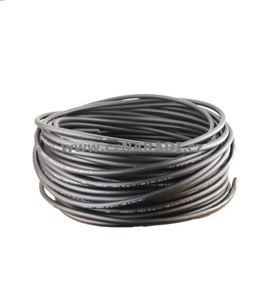 Svařovací kabel Simplex, metráž - průřez 16mm
