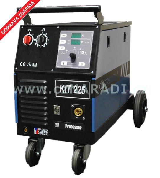 KIT 225 Processor 4-kladka + hořák + red. ventil + kukla + lahev