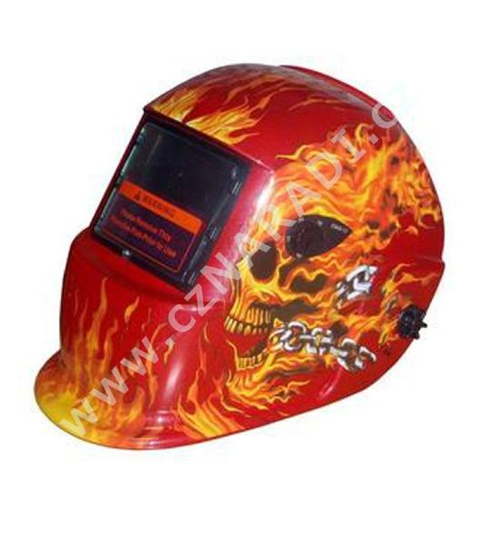 Kukla samostmívací ALFA IN S777a Oheň červená